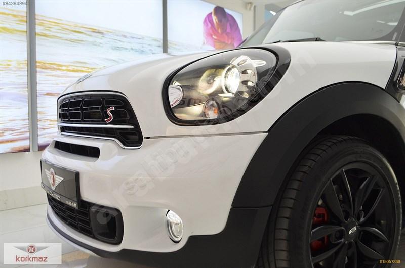 Galeriden Mini Cooper Countryman 1.6 S 2016 Model Eskişehir 41.000 Km Beyaz