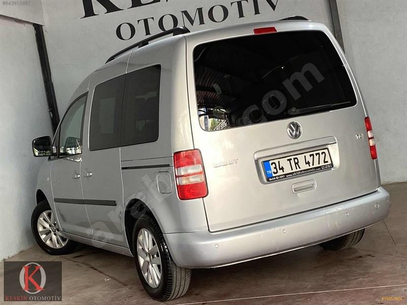 Galeriden Volkswagen Caddy 1.6 Tdi Comfortline 2014 Model İstanbul 240.000 Km Gri