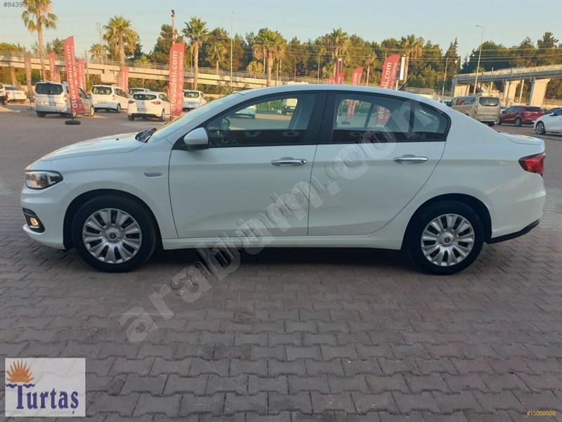Galeriden Fiat Egea 1.6 Multijet Comfort 2017 Model Antalya 106.000 Km Beyaz