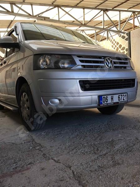 Sahibinden Volkswagen Transporter 2.0 Tdi Camlı Van 2010 Model Ankara 218.444 Km Gri (gümüş)