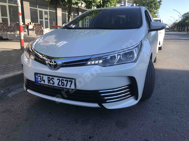 Sahibinden Toyota Corolla 1.33 Life 2017 Model Kocaeli 53.000 Km Beyaz