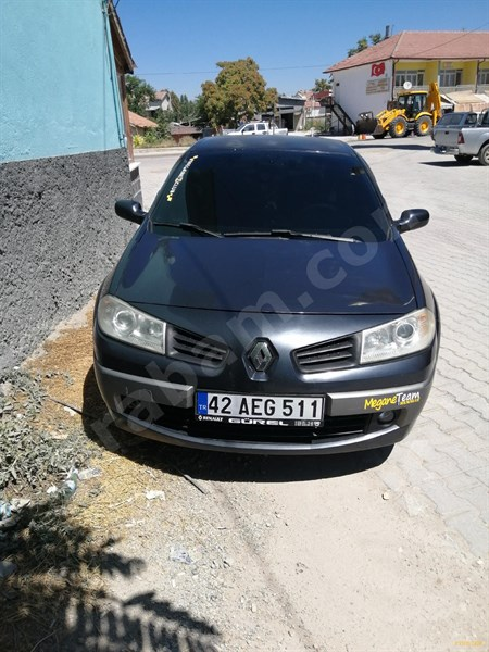 Sahibinden Renault Megane 1.5 Dci Privilege 2006 Model Konya 233.800 Km Gri (metalik)