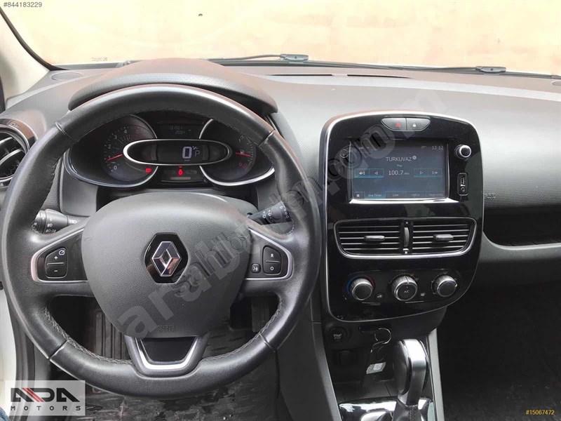 Galeriden Renault Clio 1.5 Dci Touch 2017 Model İstanbul 133.000 Km Beyaz