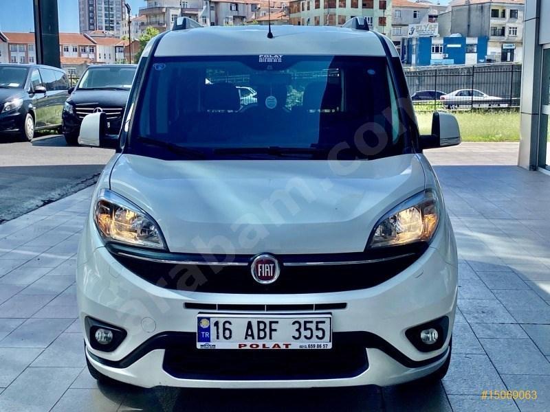Galeriden Fiat Doblo Combi 1.6 Multijet Trekking 2018 Model İstanbul 62.000 Km Beyaz