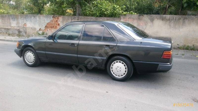 Sahibinden Mercedes - Benz 200 E 1989 Model İstanbul 450.000 Km Siyah