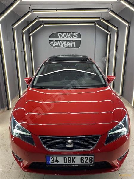 Sahibinden Seat Leon 1.6 Tdi Cr Style 2014 Model İstanbul 104.500 Km Kırmızı