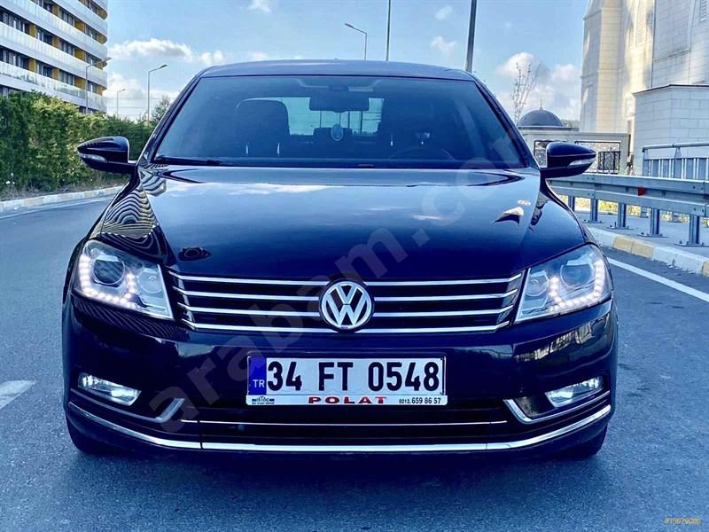 Galeriden Volkswagen Passat 2.0 Tdi Bluemotion Highline 2014 Model İstanbul 177.000 Km Siyah