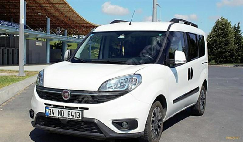 Sahibinden Fiat Doblo Combi 1.6 Multijet Premio Plus 2015 Model İstanbul 58.500 Km Beyaz