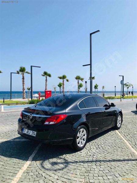 Sahibinden Opel Insignia 1.4 T Edition Elegance 2012 Model Antalya 101.000 Km Siyah