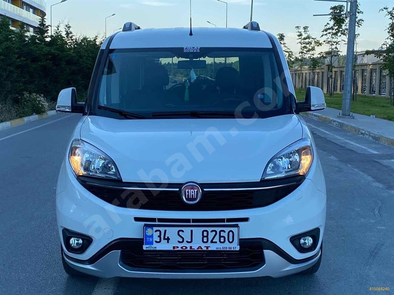 Galeriden Fiat Doblo Combi 1.6 Multijet Trekking 2017 Model İstanbul 71.000 Km Beyaz