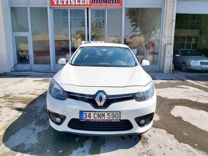 Galeriden Renault Fluence 1.5 Dci Touch 2015 Model Konya 143.000 Km Beyaz