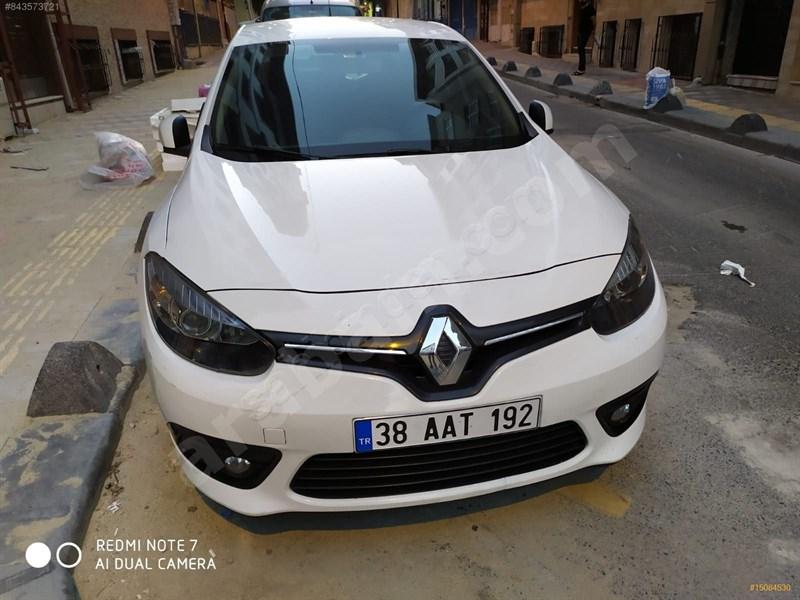Sahibinden Renault Fluence 1.5 Dci Touch 2015 Model İstanbul 193.000 Km Beyaz