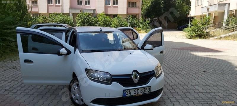 Sahibinden Renault Symbol 1.5 Dci Joy 2016 Model İstanbul 59.000 Km Beyaz