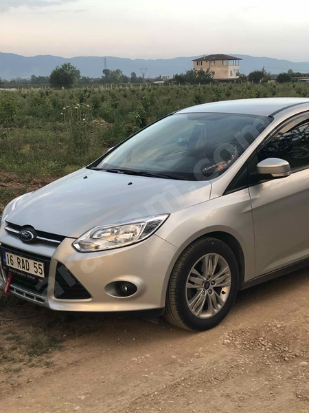 Sahibinden Ford Focus 1.6 Tdci Trend X 2013 Model Bursa 64.000 Km Gri (gümüş)
