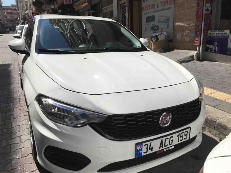 Sahibinden Fiat Egea 1.3 Multijet Easy 2017 Model İstanbul 123.000 Km Beyaz