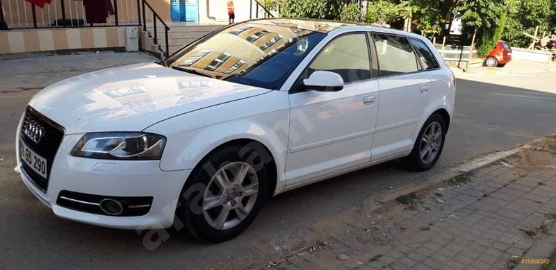 Sahibinden Audi A3 Sportback 1.6 Tdi Attraction 2012 Model İstanbul 155.000 Km Beyaz