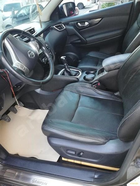 Sahibinden Nissan Qashqai 1.5 Dci Platinum Premium Pack 2014 Model Sinop 136.000 Km Kahverengi