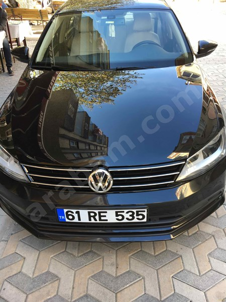 Sahibinden Volkswagen Jetta 1.6 Tdi Comfortline 2015 Model Trabzon 41.000 Km Siyah