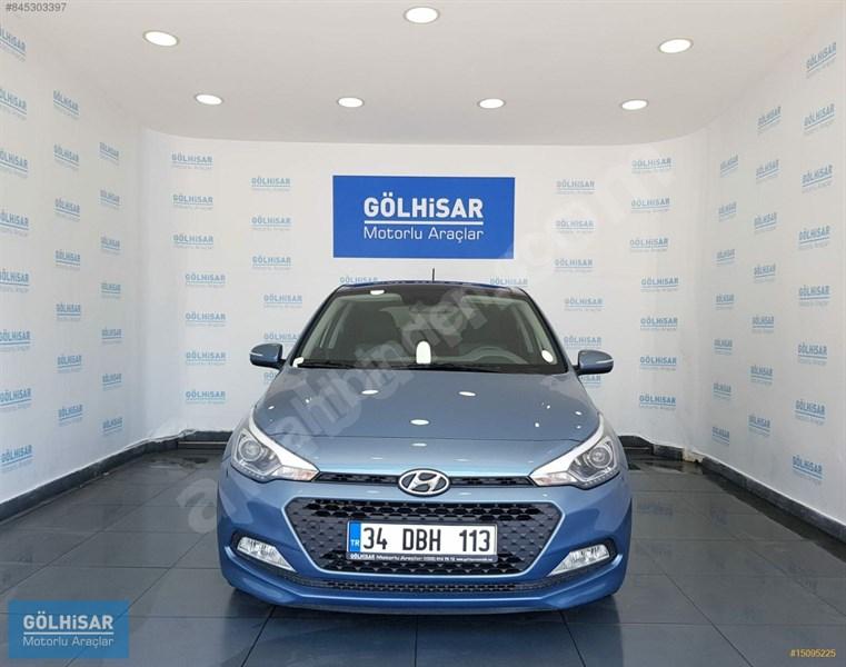 Galeriden Hyundai I20 1.4 Mpi Style 2017 Model Muğla 70.000 Km Mavi