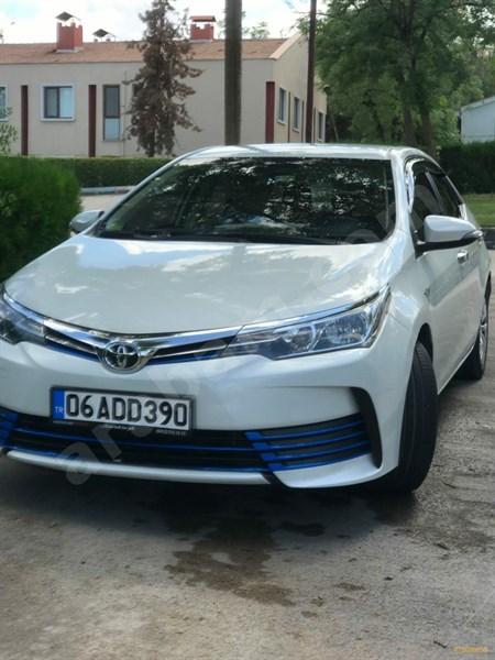 Sahibinden Toyota Corolla 1.33 Life 2016 Model Diyarbakır 50.000 Km Beyaz