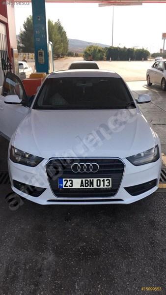 Sahibinden Audi A4 Sedan 2.0 Tdi 2012 Model Elazığ 185.000 Km Beyaz