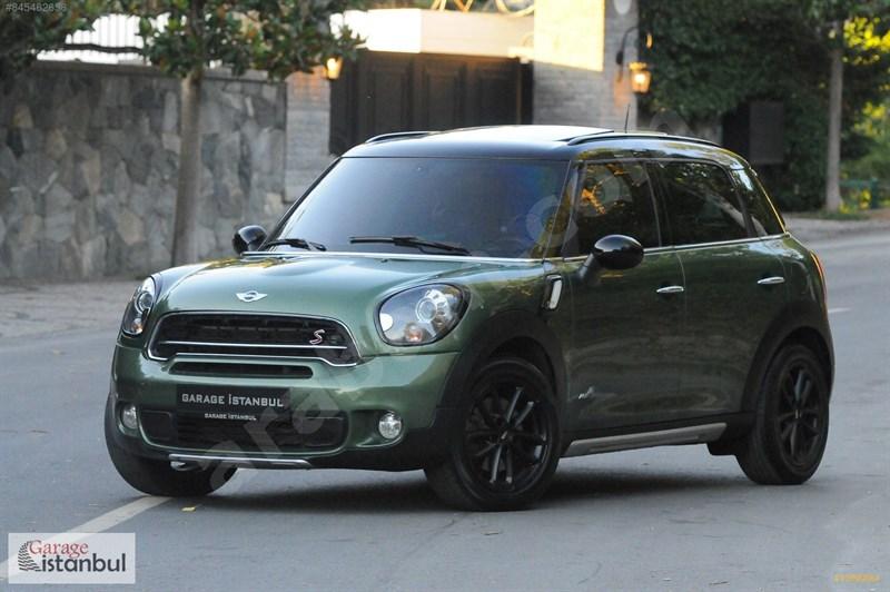 Galeriden Mini Cooper Countryman 1.6 S 2015 Model İstanbul 61.000 Km Yeşil