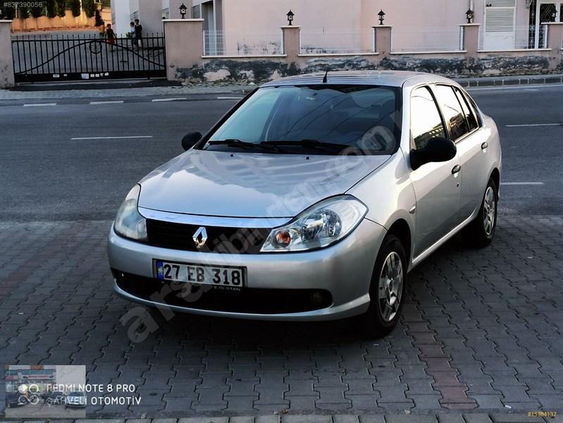 Galeriden Renault Symbol 1.5 Dci Authentique 2009 Model Gaziantep 255.000 Km Gri