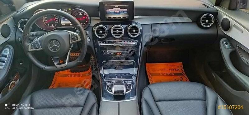 Galeriden Mercedes - Benz C 200 Bluetec Amg 2017 Model Gaziantep 42.500 Km Siyah