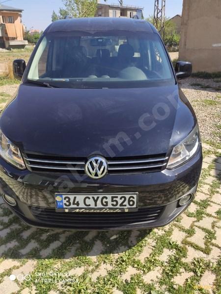Sahibinden Volkswagen Caddy 1.6 Tdi Comfortline 2014 Model Hakkari 149.000 Km Siyah