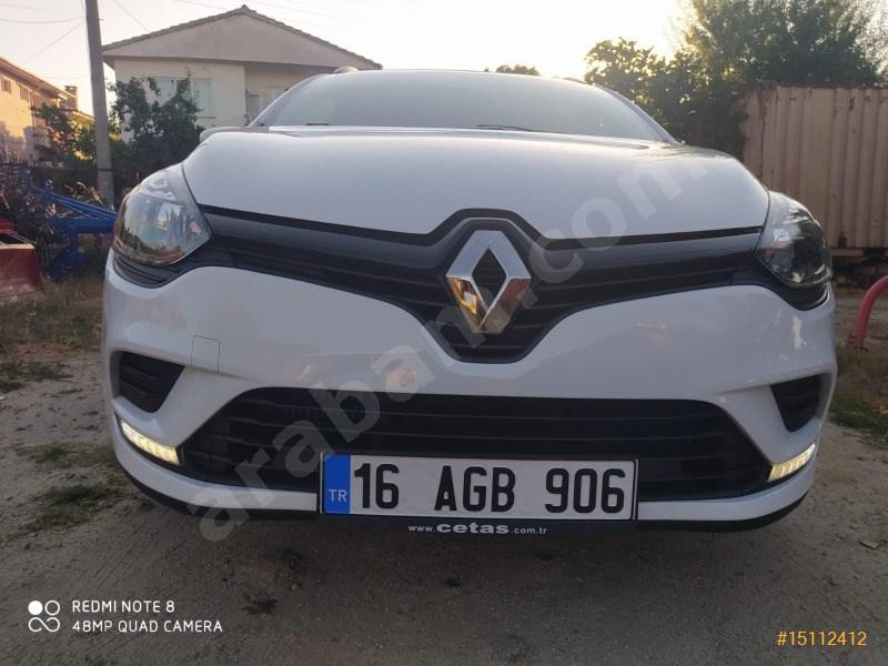 Sahibinden Renault Clio 1.5 Dci Sporttourer Joy 2019 Model çanakkale 13.000 Km Beyaz