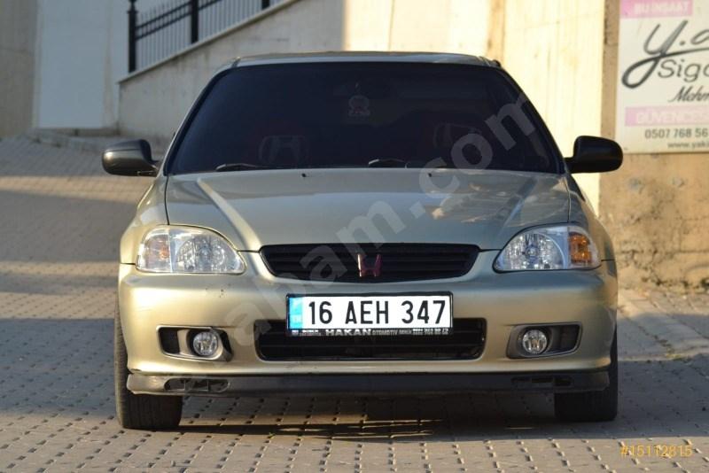 Sahibinden Honda Civic 1.6 Es 2001 Model Bursa 208.000 Km -