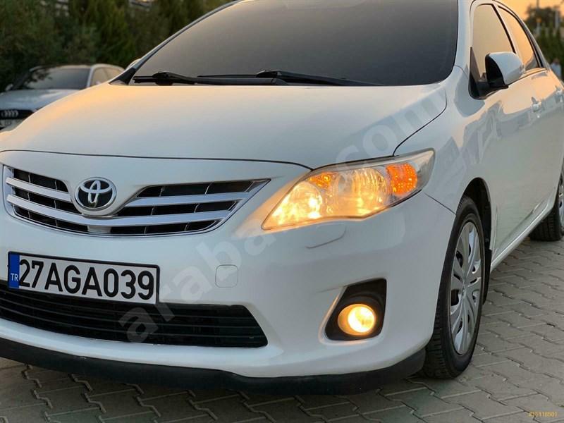 Sahibinden Toyota Corolla 1.33 Comfort 2012 Model Gaziantep 96.000 Km Beyaz