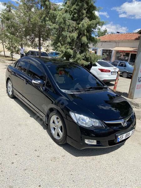 Sahibinden Honda Civic 1.6 I-vtec Elegance 2008 Model Amasya 168.000 Km Siyah