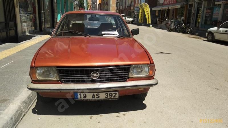 Sahibinden Opel Ascona 1976 Model çorum 320.000 Km Turuncu