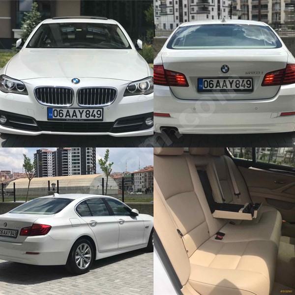 Sahibinden Bmw 5 Serisi 520i Comfort 2016 Model Ankara 28.000 Km Beyaz