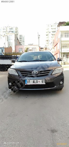 Sahibinden Toyota Corolla 1.4 D-4d Comfort 2011 Model Adana 118.000 Km Gri