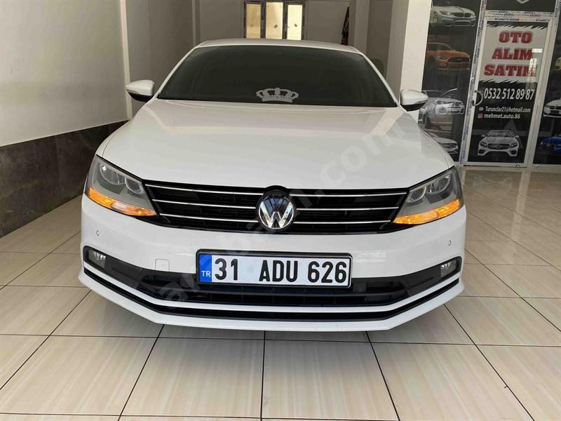 Galeriden Volkswagen Jetta 1.6 Tdi Comfortline 2014 Model Hatay 159.000 Km Beyaz