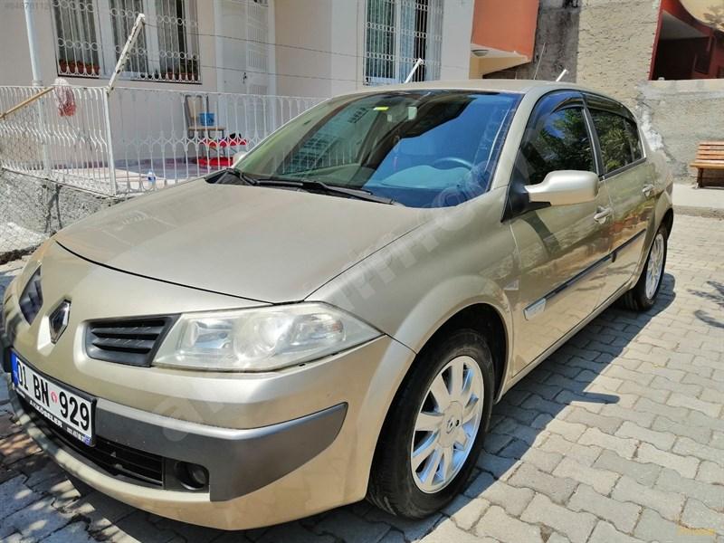 Sahibinden Renault Megane 1.6 Expression 2006 Model Adana 183.000 Km Kahverengi