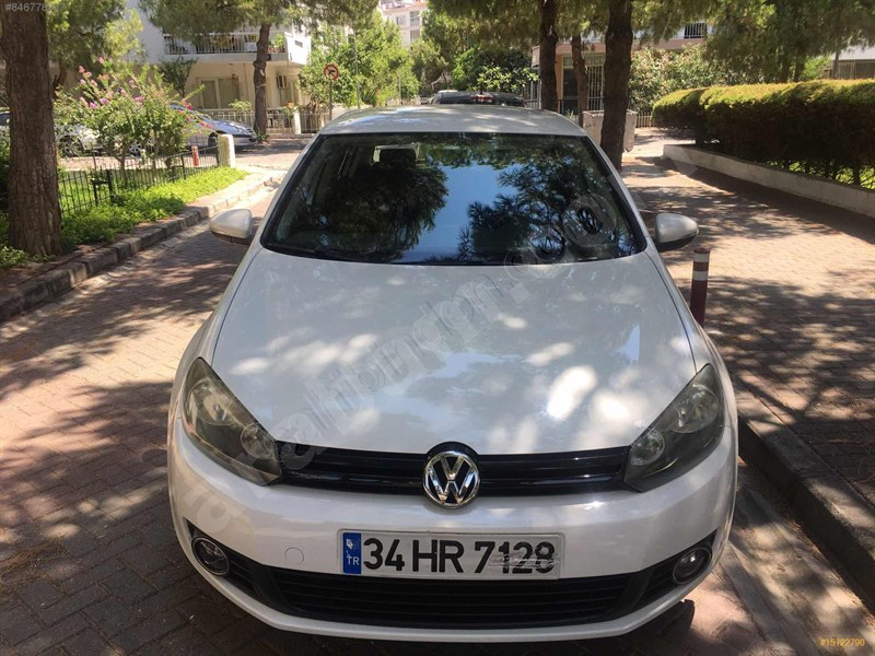 Sahibinden Volkswagen Golf 1.4 Tsi Pulse 2012 Model İzmir 75.000 Km Beyaz
