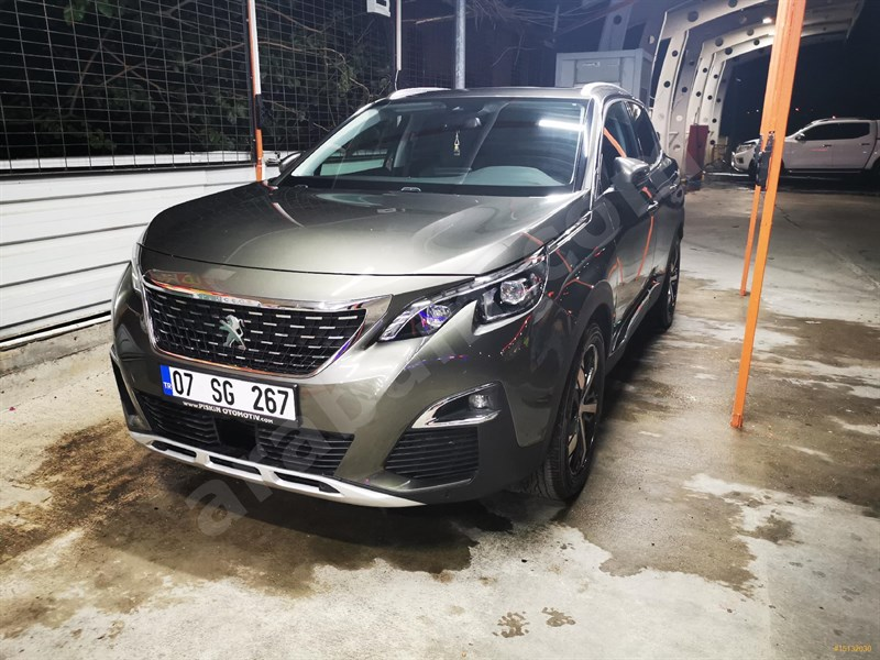Sahibinden Peugeot 3008 1.5 Bluehdi Allure Selection 2019 Model Antalya 30.000 Km -