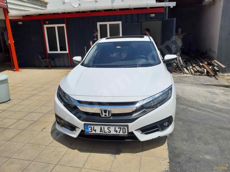 Sahibinden Honda Civic 1.6 I-vtec Executive 2017 Model İstanbul 29.000 Km -