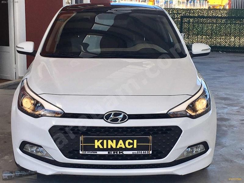 Galeriden Hyundai I20 1.4 Mpi Style 2018 Model çorum 24.500 Km Beyaz