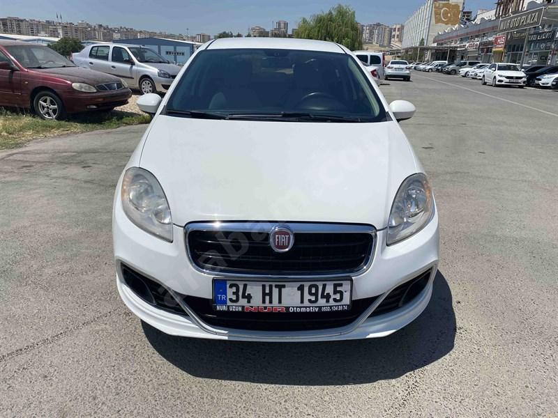 Galeriden Fiat Linea 1.3 Multijet Easy 2013 Model Gaziantep 165.000 Km Beyaz