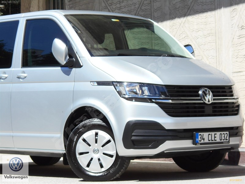 Galeriden Volkswagen Transporter 2.0 Tdi Camlı Van 2020 Model İstanbul 12.000 Km Gri