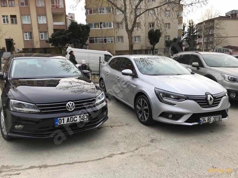 Sahibinden Renault Megane 1.5 Dci Icon 2016 Model İstanbul 63.000 Km Gri