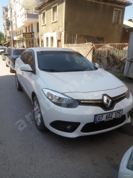 Sahibinden Renault Fluence 1.5 Dci Joy 2013 Model Antalya 190.000 Km -