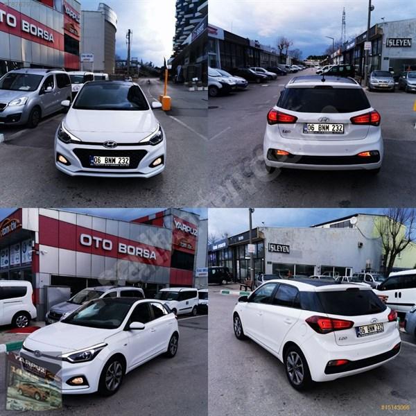 Galeriden Hyundai I20 1.4 Mpi Style 2019 Model Bursa 14.000 Km Beyaz