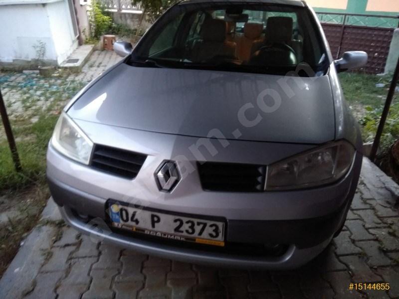 Sahibinden Renault Megane 1.6 Dynamique 2005 Model Edirne 180.000 Km Gri