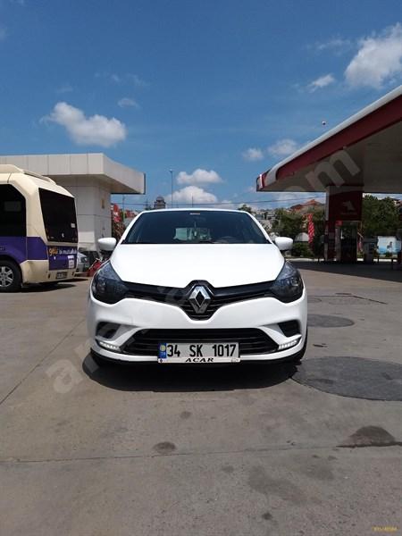 Sahibinden Renault Clio 1.5 Dci Joy 2016 Model İstanbul 92.500 Km Beyaz
