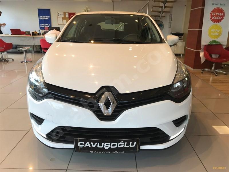 Galeriden Renault Clio 1.5 Dci Joy 2018 Model İstanbul 58.000 Km Beyaz